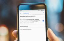 Désactiver le suivi des annonces publicitaires sur Android