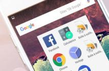 Comment créer des dossiers d'applications sur Android