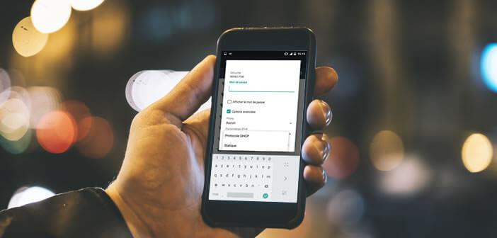 Configurer une adresse IP fixe dans les paramètres réseaux de son Android