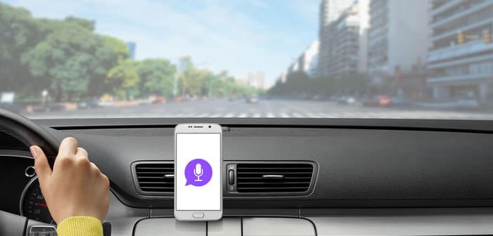 Commander votre mobile dans votre voiture sans lâcher le volant