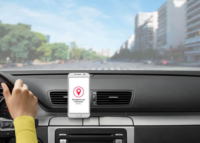 Lancer votre application de navigation GPS sans utiliser vos mains