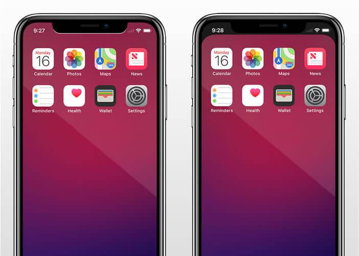 L'application Notcho donne un nouveau look à l'écran bord à bord de votre mobile