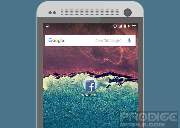 Modifier l'organisation des icônes de votre bureau Android