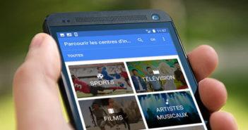 Ajouter vos centres d'intérêts dans le flux d'actualité de l'application de Google