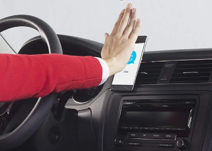 Placez votre main devant votre smartphone pour réveiller l'application ZeroTouch
