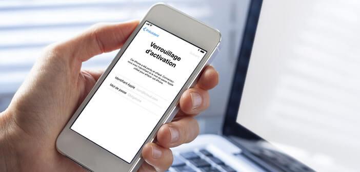 Débloquer un iPhone bloqué à cause du verrouillage d'activation