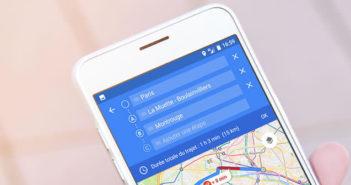 Planifier un itinéraire sur Google Maps pour le consulter ultérieurement