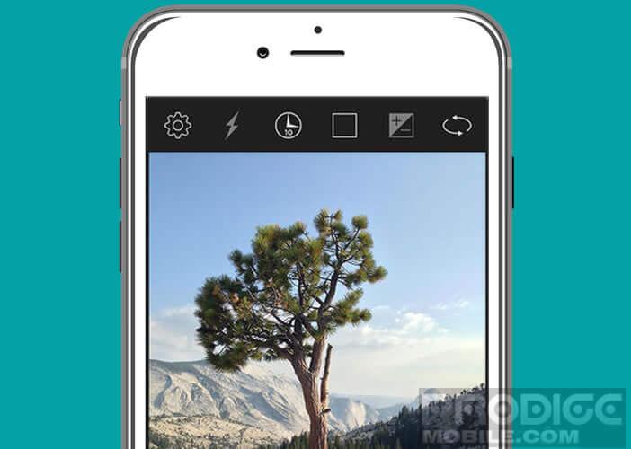 Application pour remplacer l'appareil photo de votre iPhone