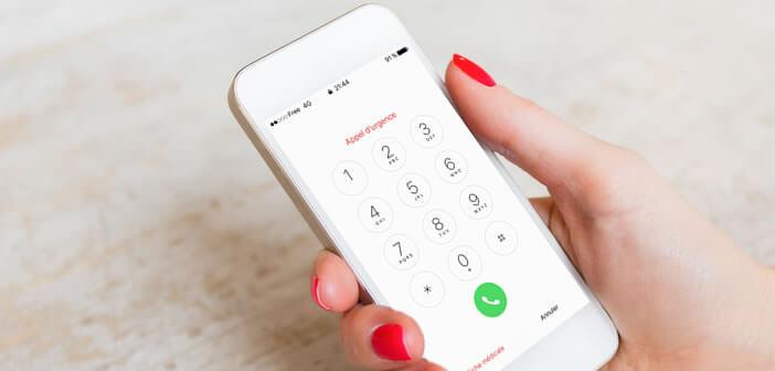 Apprenez à activer l'option d'appel d'urgence de l'iPhone