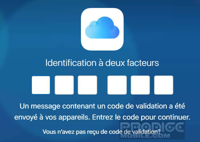 Service web iCloud pour accéder à vos données depuis un PC