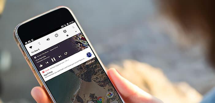 Changer la couleur de fond des notifications d'Android comme sur Oreo