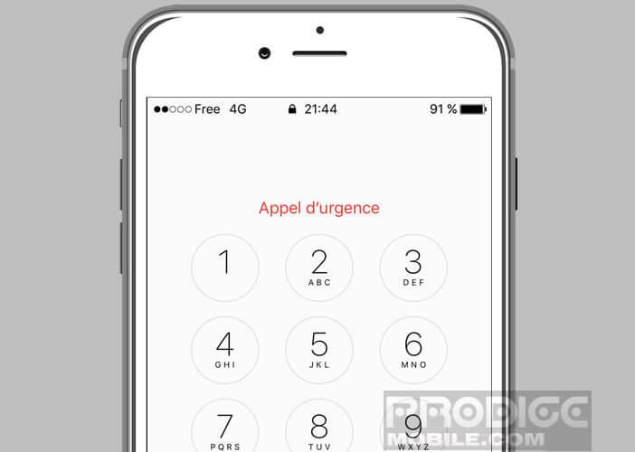 En cas d'agression utiliser votre smartphone pour lancer un SOS