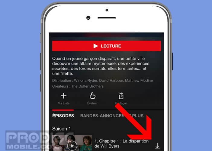 Enregistrer des vidéos Netflix pour les consulter sans connexion internet