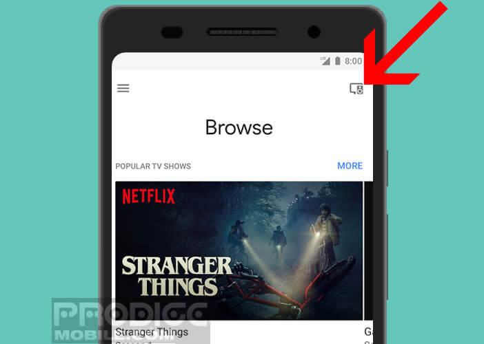 Afficher la liste des appareils connectés dans Google Home