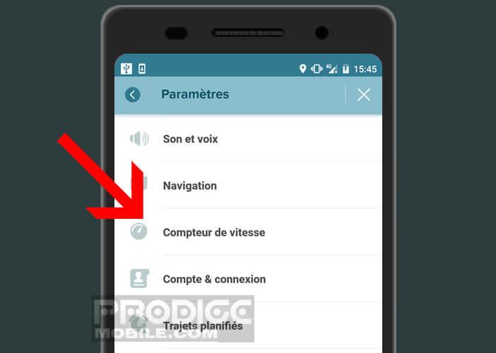 Demandez à Waze d'afficher votre vitesse dans le coin inférieur gauche de l'écran