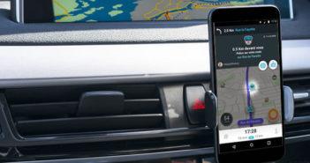 Afficher une alerte sonore ou visuelle en cas d'excès de vitesse dans Waze