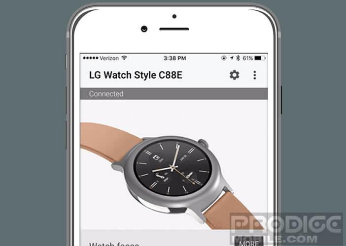 Installer l'appli Android Wear sur votre iPhone