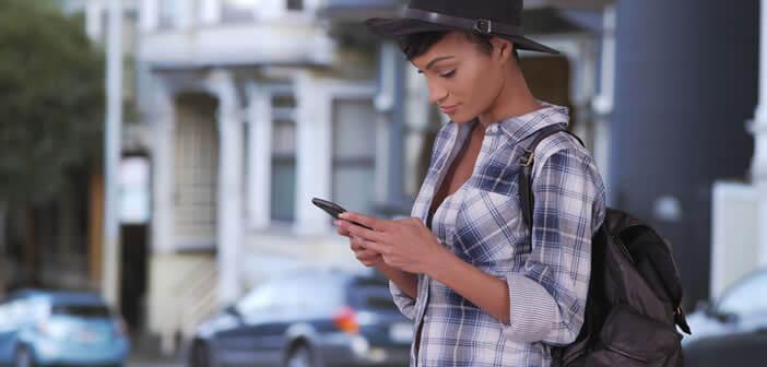 Passer des communications depuis l'étranger avec un smartphone