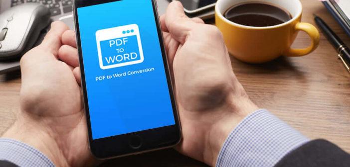 Convertir un fichier PDF en Word sur Android