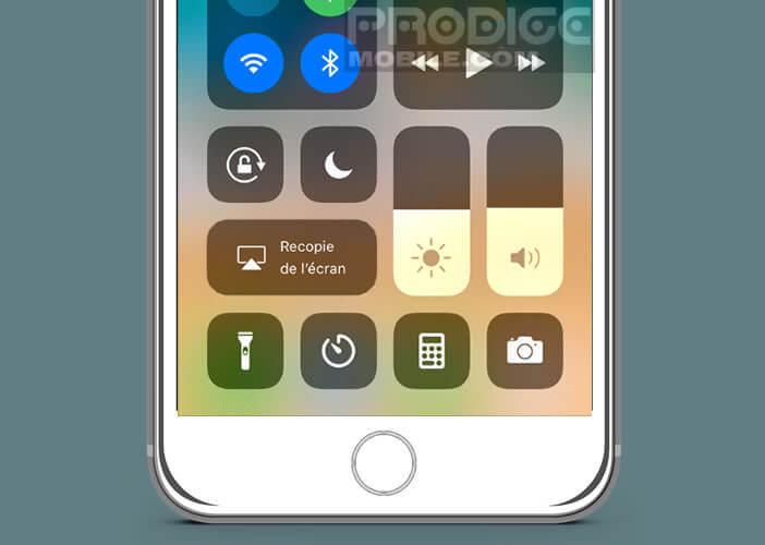 Lancer n'importe quelle fonction de l'iPhone d'un simple clic du doigt