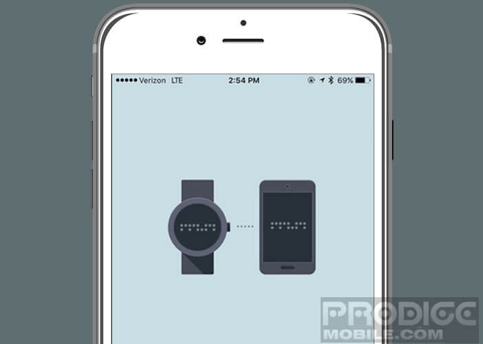Recevoir les notifications d'iOs sur sa montre
