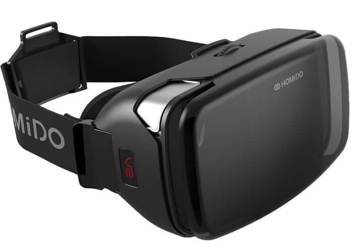 Casque VR avec des lentilles sur-mesure avec correction myopie et hypermétropie