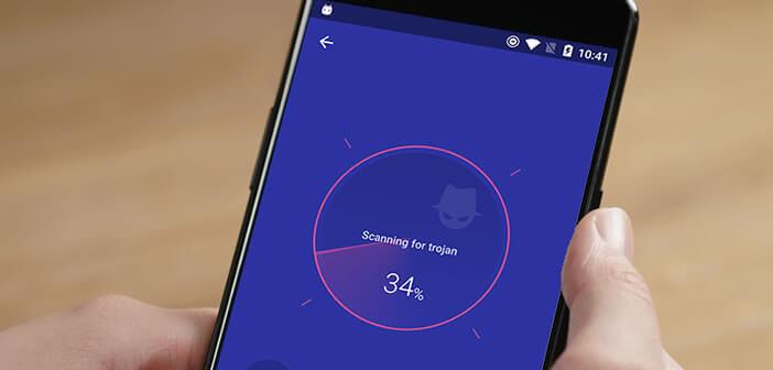CM Security Master, antivirus gratuit pour téléphone Android éditée par Cheetah Mobile
