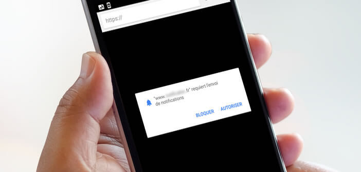 Comment bloquer les pop ups de demandes de notifications for Bloquer fenetre pop up chrome