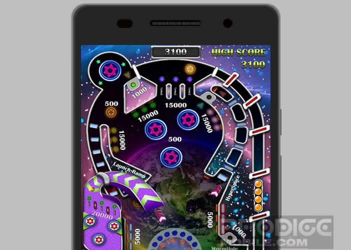 La version électronique du célèbre jeu de flipper pour smartphone