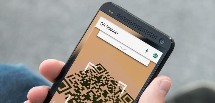 flasher un code avec un smartphone