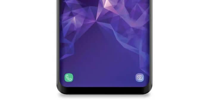 Reconfigurer les raccourcis d'application sur l'écran de verrouillage du Galaxy S9