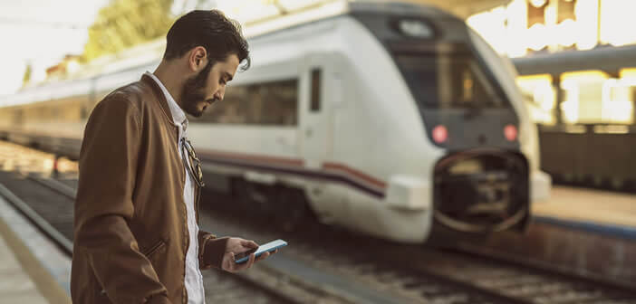 Suivre les déplacements de votre train sur une carte depuis votre mobile