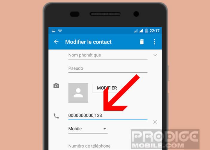 Appeler un contact professionnel depuis votre mobile Android