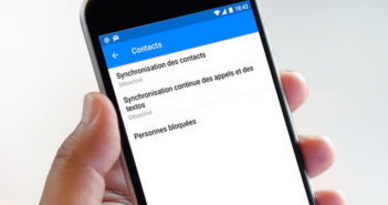 L'application Facebook Messenger enregistre vos textos et vos appels