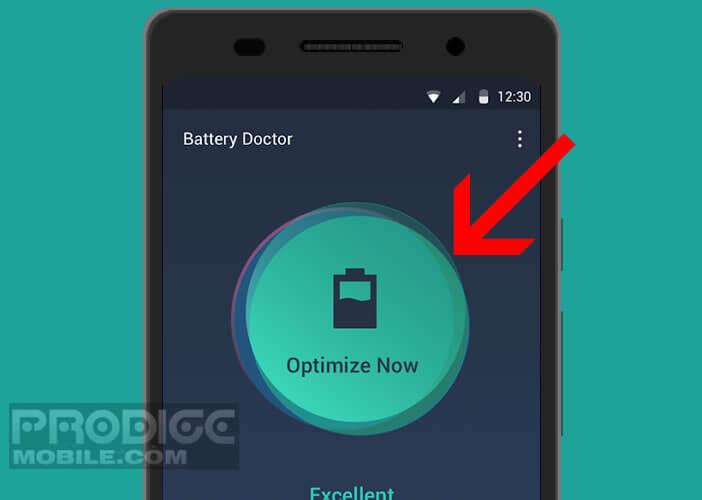 Optimiser la durée de vie de votre batterie avec l'appli Battery Doctor
