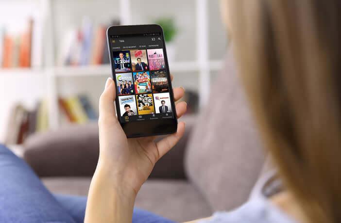 Accéder aux services de télévision de rattrapage depuis votre smartphone Android