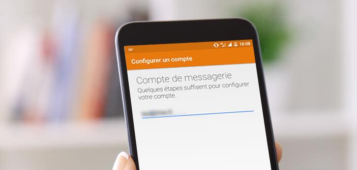 configurer un compte mail free sur android