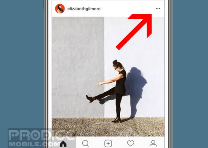 Empêcher l'affichage des photos et des vidéos de certains de vos abonnés dans le flux Instagram