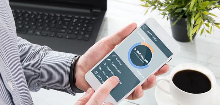 Gérer votre budget et vos différents comptes bancaires depuis votre mobile