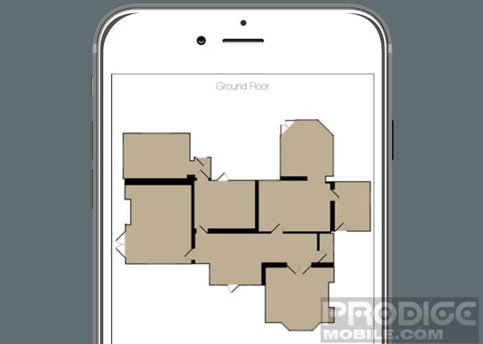 Dessiner le plan de votre logement avec votre iPhone