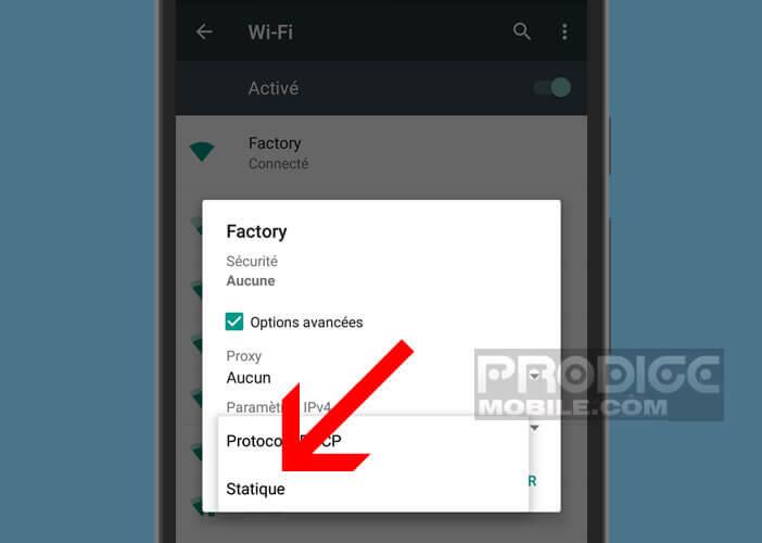 Modifier le protocole de connexion de votre smartphone Android