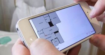 Mesurer la longueur et la surface d'une pièce avec l'appli RoomScan