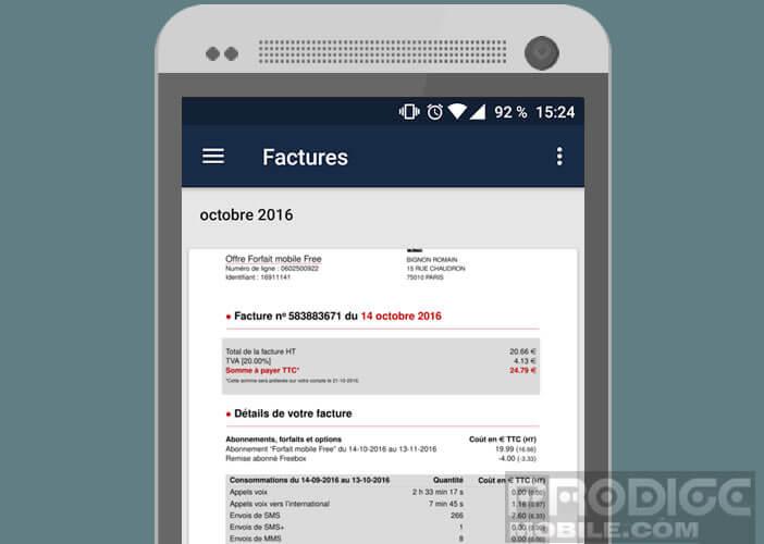 L'application Budgea récupére vos factures automatiquement