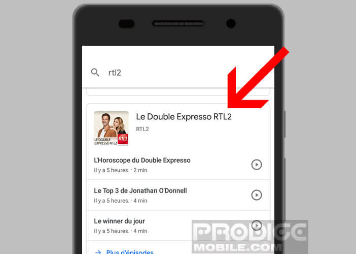 L'application de Google enrichie à l'IA facilite l'accès aux podcasts