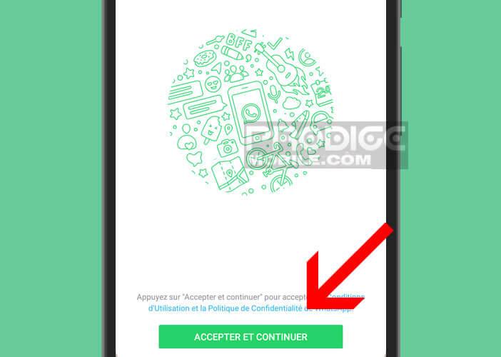 Activer WhatsApp sur un téléphone dépourvu de puce téléphonique