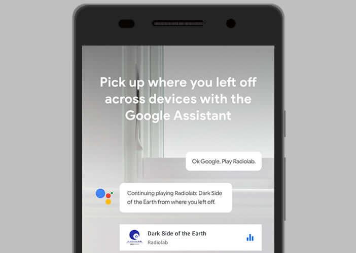Ecouter une émission sur l'enceinte connectée Google Home