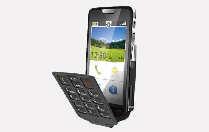 Emporia Smart téléphone avec stylet et clapet amovible