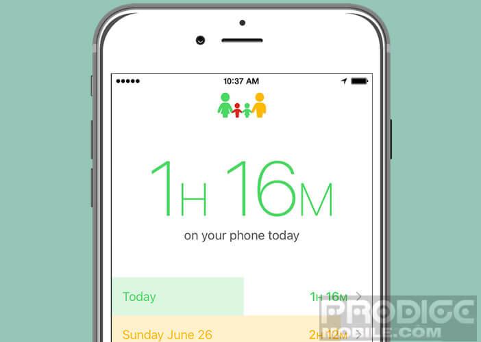 Moment l'application qui évalue votre dépendance à votre smartphone