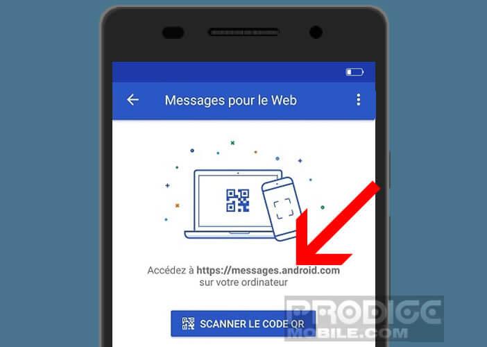 Récupérer tous vos messages directement sur le navigateur web de votre PC