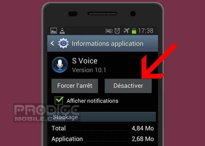 Supprimer l'assistant Samsung de votre mobile Galaxy